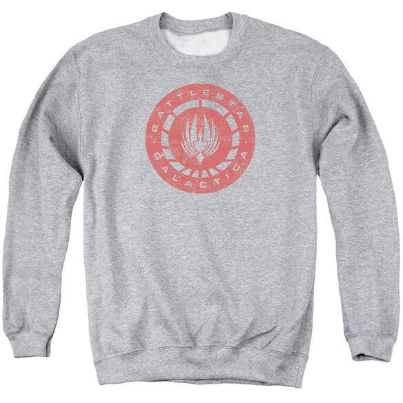 Bsg Eroded Logo Adult Crewneck Sweatshirt Athletic
