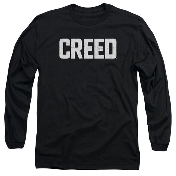Creed Cracked Logo Long Sleeve Adult T-Shirt