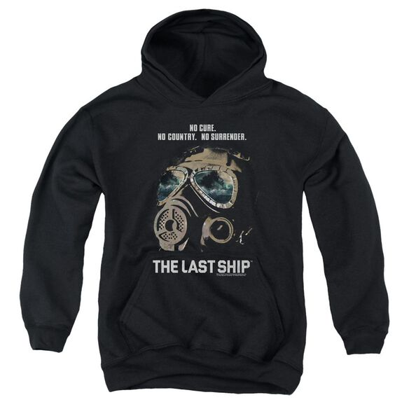 Last Ship Mask Youth Pull Over Hoodie