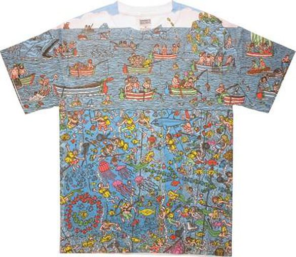 Where's Waldo Sea Divers Sublimated T-Shirt Sheer
