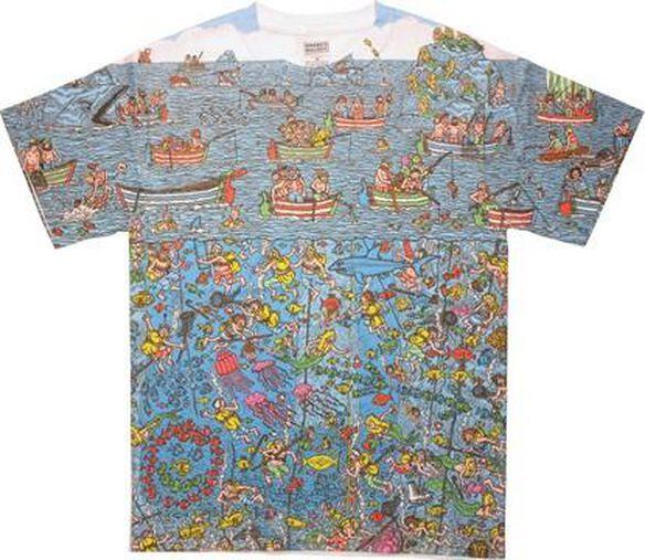 Where's Waldo Sea Divers Sublimated T-Shirt Sheer