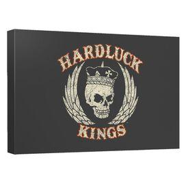 Hardluck Kings Red Cream Distress Quickpro Artwrap Back Board