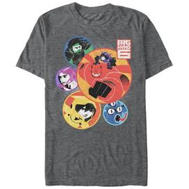 Big Hero 6 Round Group T-Shirt