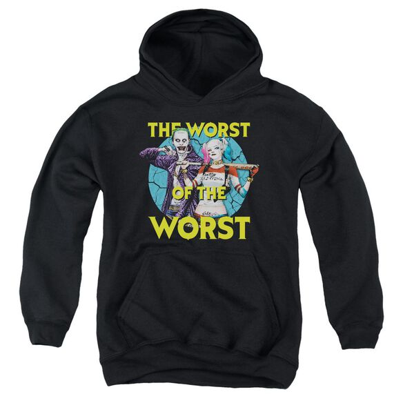 Suicide Squad Worst Pair Youth Pull Over Hoodie