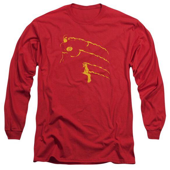 Dc Flash Min Long Sleeve Adult T-Shirt