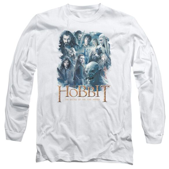 Hobbit Main Characters Long Sleeve Adult T-Shirt