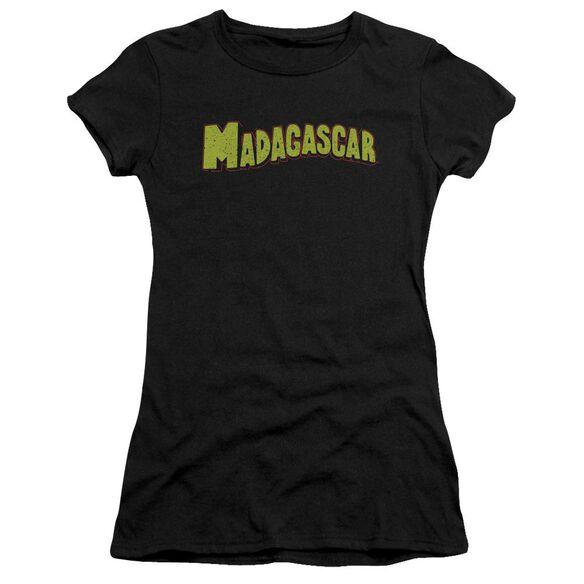 Madagascar Logo Short Sleeve Junior Sheer T-Shirt