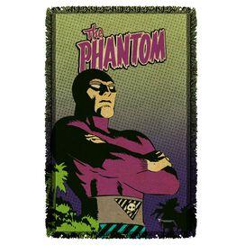 Phantom Island Woven Throw