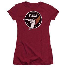 Sg1 F302 Logo Short Sleeve Junior Sheer T-Shirt
