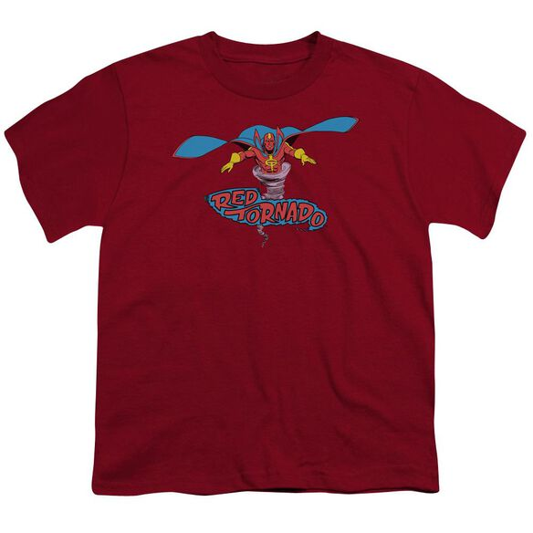 Dc Red Tornado Short Sleeve Youth T-Shirt