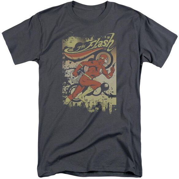 DC FLASH JUST PASSING THROUGH-S/S ADULT T-Shirt
