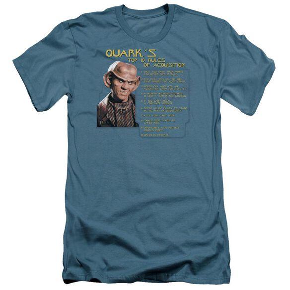 Star Trek Quark's Rules Short Sleeve Adult T-Shirt