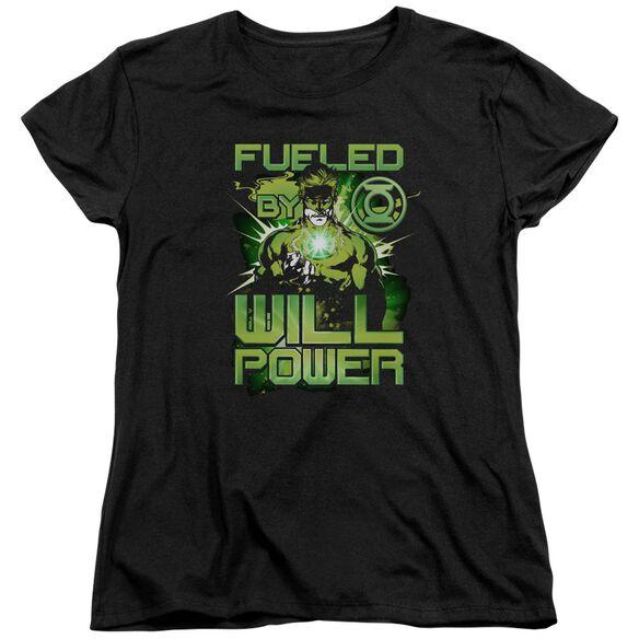 Green Lantern Fueled Short Sleeve Womens Tee T-Shirt