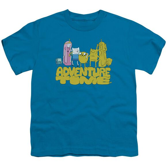 Adventure Time Jakes Friends Short Sleeve Youth T-Shirt