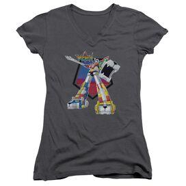 Voltron Blazing Sword Junior V Neck T-Shirt