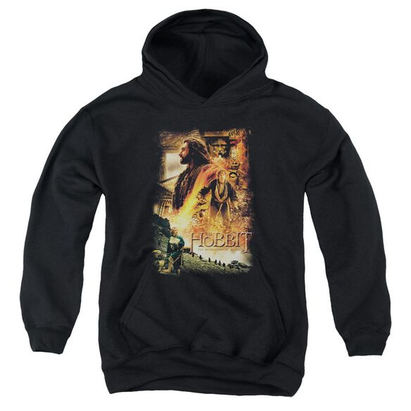 Hobbit Golden Chamber Youth Pull Over Hoodie