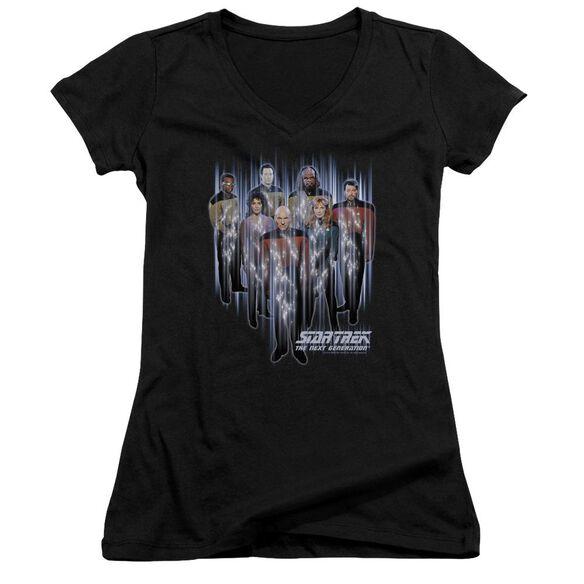 Star Trek Beam Us Up Junior V Neck T-Shirt