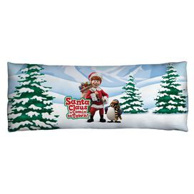 Santa Claus Is Comin To Town Kris And Topper Microfiber Body