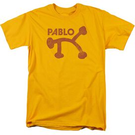 PABLO PABLO DISTRESS - S/S ADULT 18/1 - GOLD T-Shirt