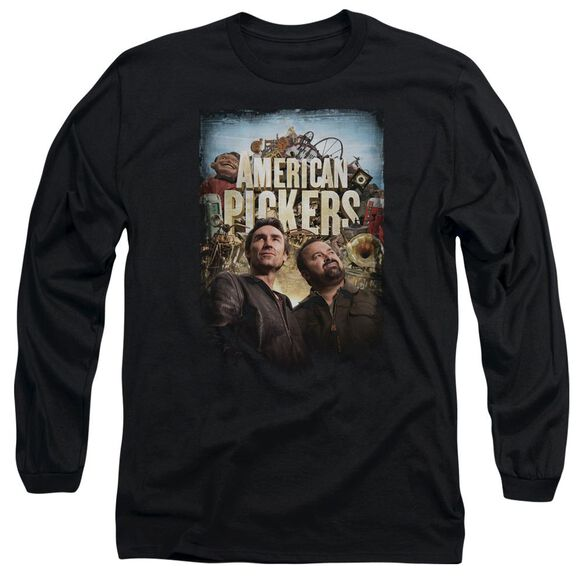 American Pickers Picker Poster Long Sleeve Adult T-Shirt