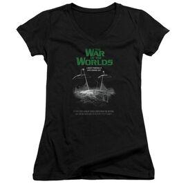 War Of The Worlds Attack Poster Junior V Neck T-Shirt