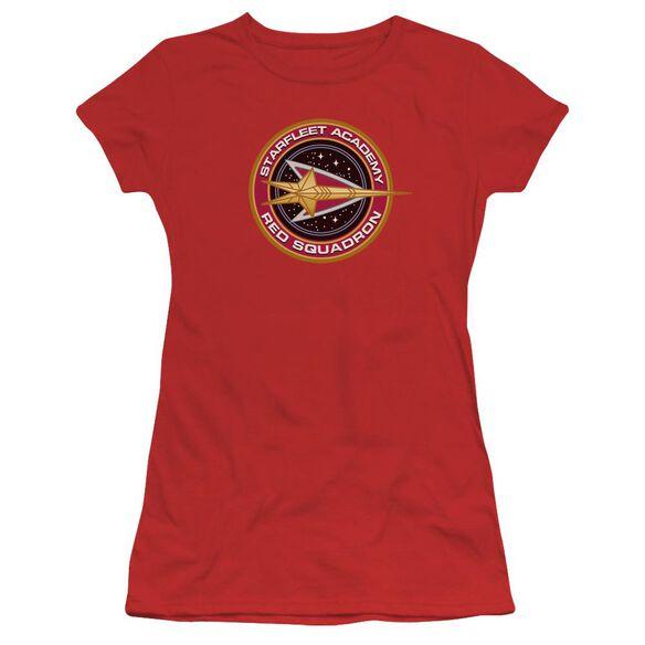 Star Trek Squadron Short Sleeve Junior Sheer T-Shirt