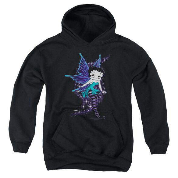 Betty Boop Sparkle Fairy Youth Pull Over Hoodie