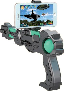 Revolvar Max Hybrid Super Blaster Augmented Reality 3D Gaming Gun