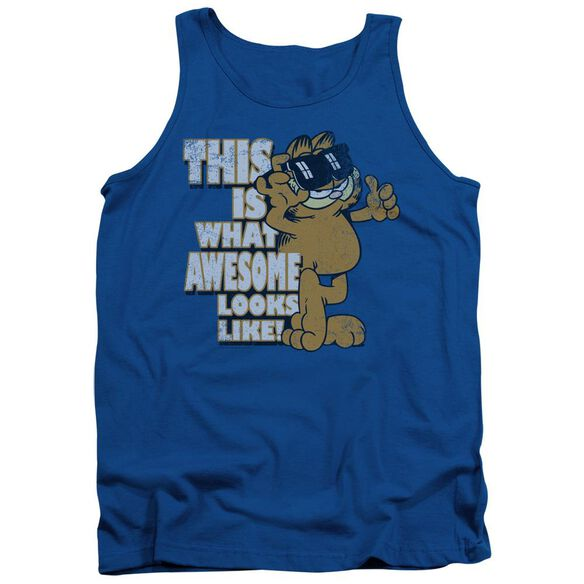 Garfield Awesome Adult Tank Royal
