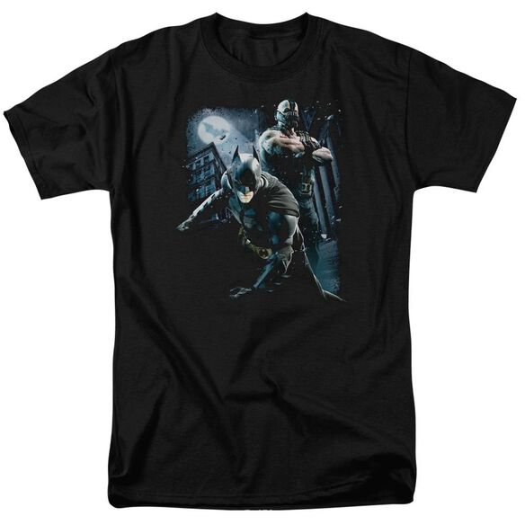 Dark Knight Rises Battlefield Gotham Short Sleeve Adult T-Shirt