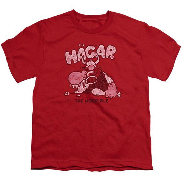 Hagar The Horrible Hagar Gulp Short Sleeve Youth T-Shirt