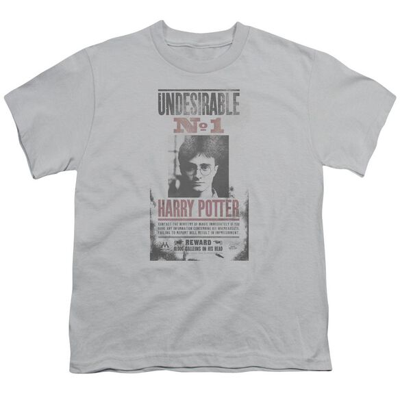 Harry Potter Undesirable No1 Distressed Short Sleeve Youth T-Shirt