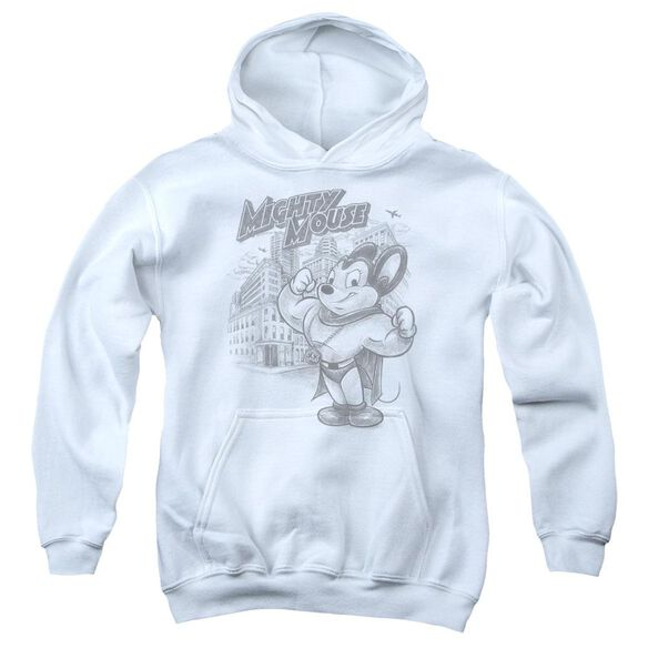 Mighty Mouse Protect And Serve Youth Pull Over Hoodie