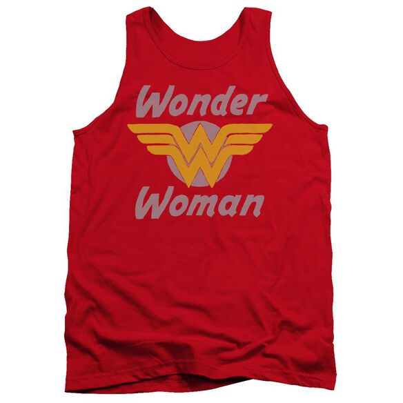 Dc Wonder Wings Adult Tank