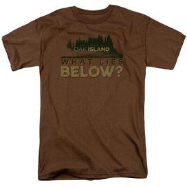 The Curse Of Oak Island What Lies Below Short Sleeve Adult T-Shirt