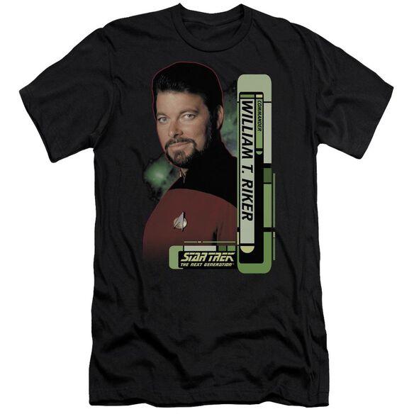 Star Trek Riker Short Sleeve Adult T-Shirt