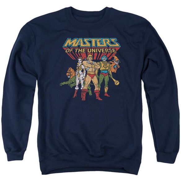 Masters Of The Universe Team Of Heroes Adult Crewneck Sweatshirt