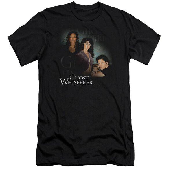 Ghost Whisperer Diagonal Cast Short Sleeve Adult T-Shirt