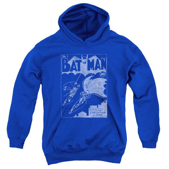 Batman Issue 1 Cover Youth Pull Over Hoodie