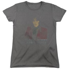 Joan Jett Worn Jett Short Sleeve Women's Tee T-Shirt