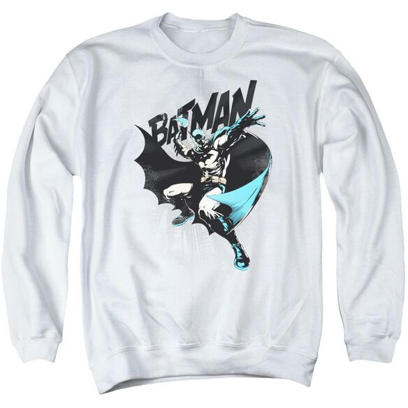 Batman Batarang Throw Adult Crewneck Sweatshirt