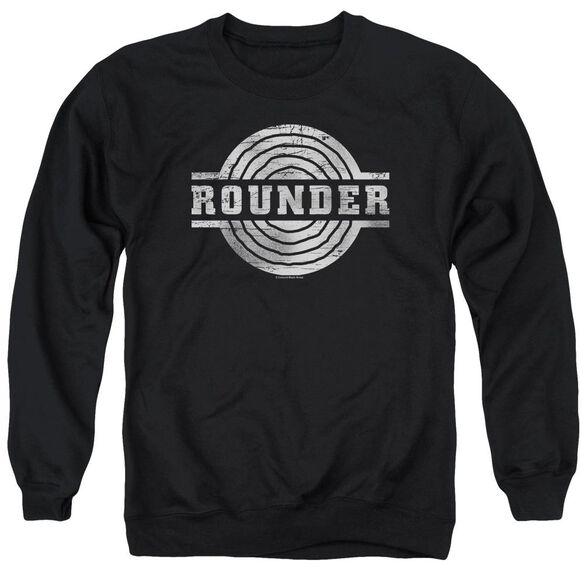 Rounder Rounder Retro Adult Crewneck Sweatshirt