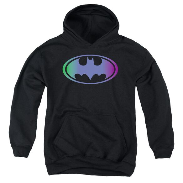 Batman Gradient Bat Logo Youth Pull Over Hoodie