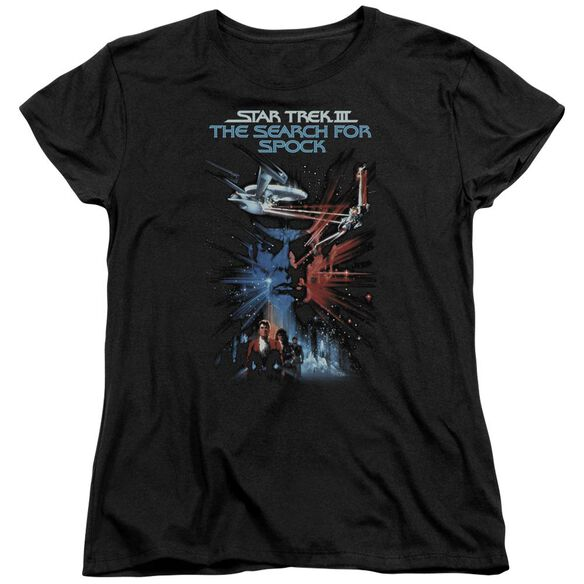 Star Trek Search For Spock(Movie) Short Sleeve Womens Tee T-Shirt