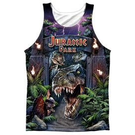 Jurassic Park Welcome To The Park - Adult 100% Poly Tank Top
