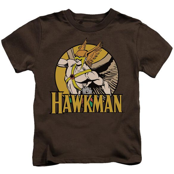 Dc Hawkman Short Sleeve Juvenile Coffee T-Shirt