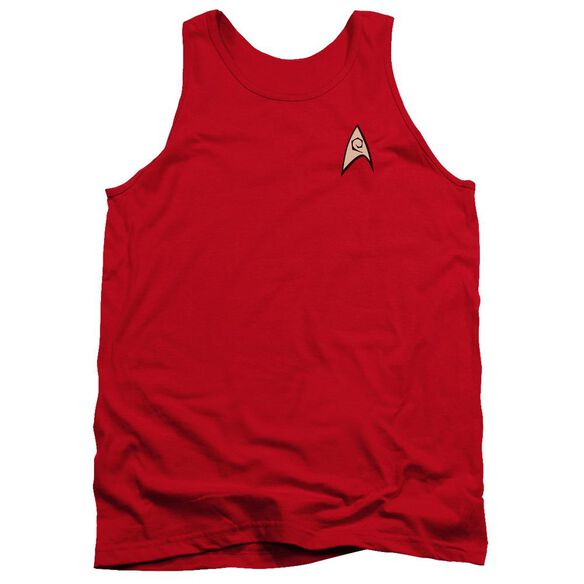 Star Trek Engineering Uniform Adult Tank