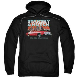 Starsky And Hutch Bay City Adult Pull Over Hoodie