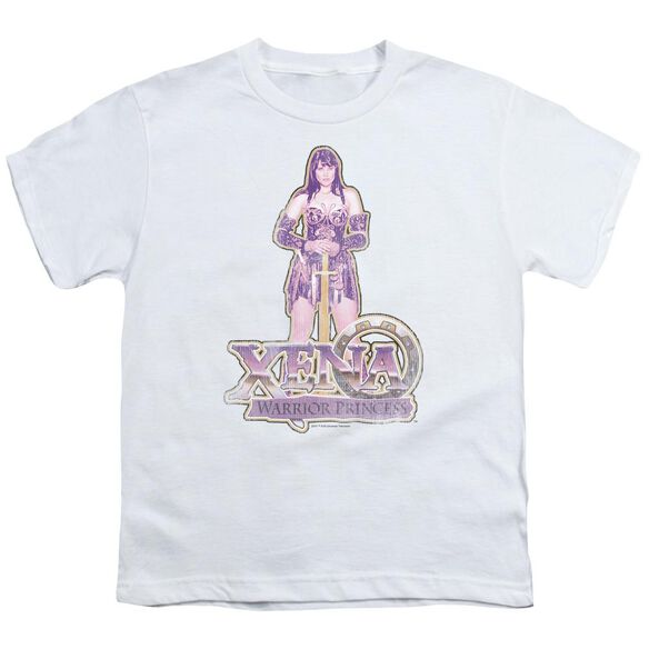 Xena Stand Short Sleeve Youth T-Shirt