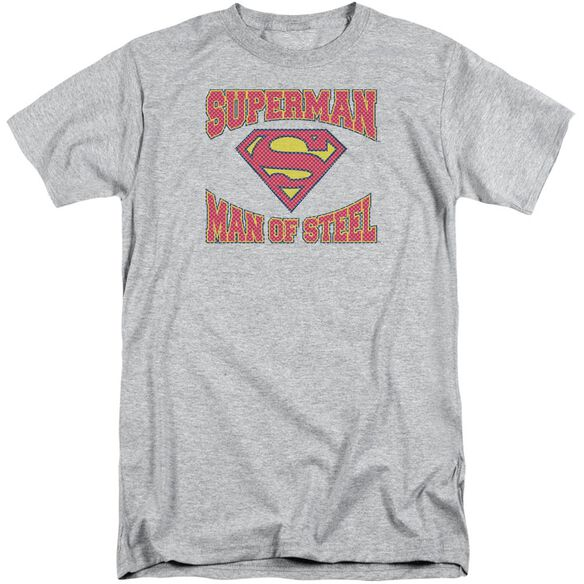 Superman Man Of Steel Jersey Short Sleeve Adult Tall Athletic T-Shirt